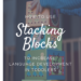 Easy to follow tips for parents to get toddlers talking with simple toys like stacking blocks. Great for child language development. #languagedevelopment #latetalker #speechtherapy #speechtherapyathome #earlyintervention Website has easy tips for parents for speech therapy at home