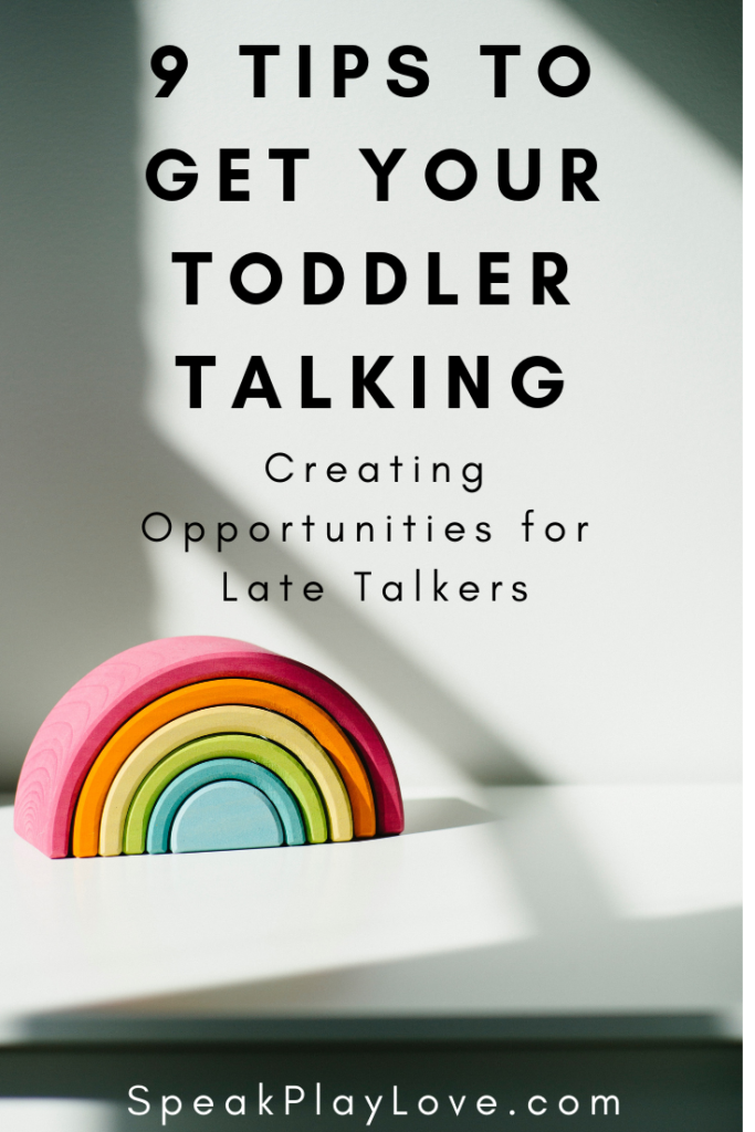 pin image to get toddler to talk