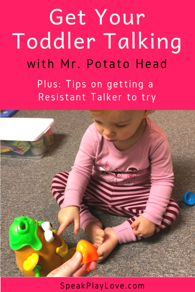 image of mr potato head for early intervention