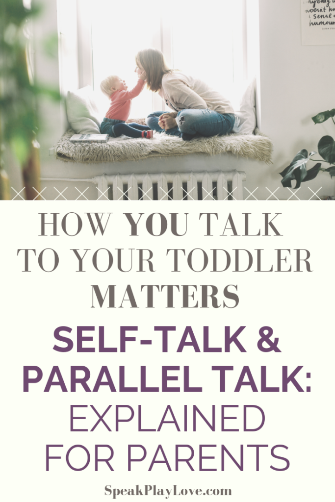 Self Talk and Parallel Talk Pin Image