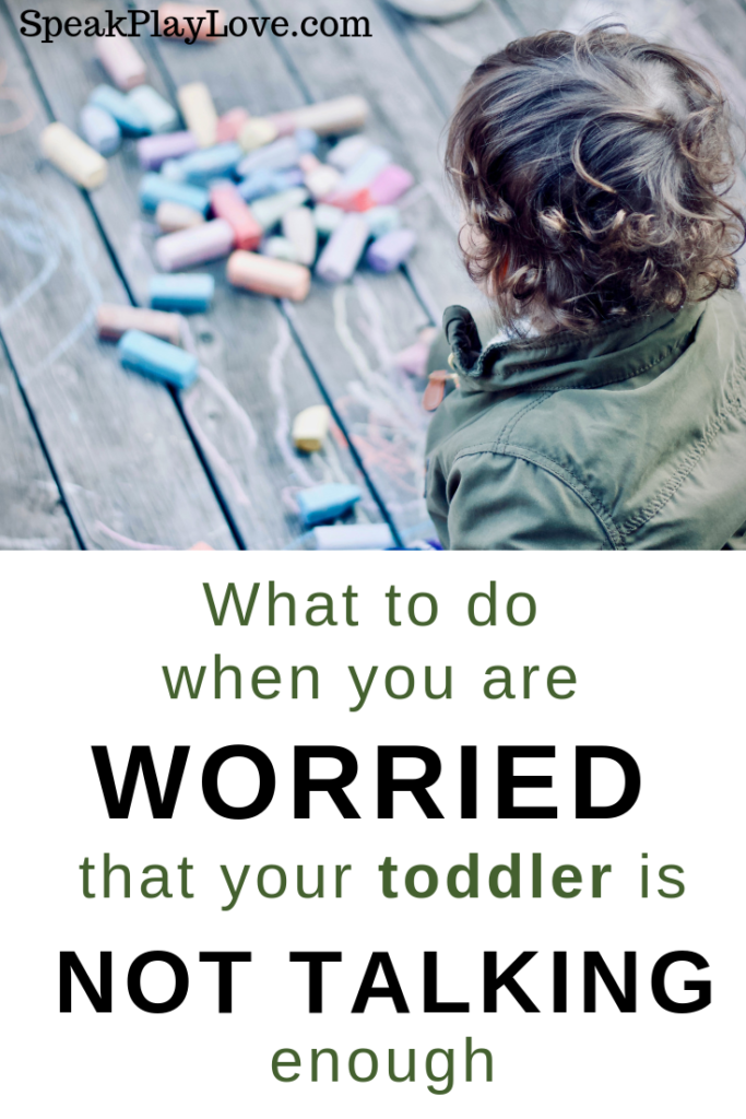 Get tips to help toddler talk more. These language development tips can be used with late talkers and typically developing children. #speakplaylove #languagedevelopment #speechtherapy #toddleractivities #earlylearning