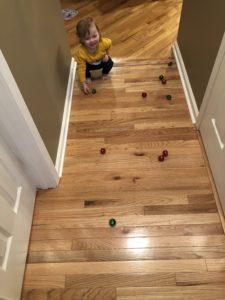 Toddler Playing wiht Jingle Bells