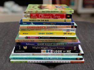 stack of free children's books