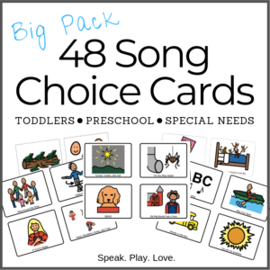 Big Pack Song Choice Cards Cover Image