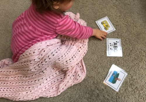 Song Communication Cards for language development