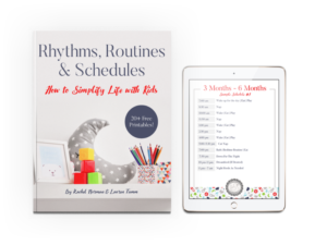 rhythms routines schedules book pic