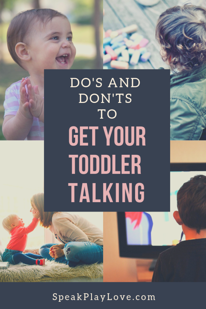 Tips for parents to get toddler to talk and increase language development! #languagedevelopment #toddleractivities #speechtherapy