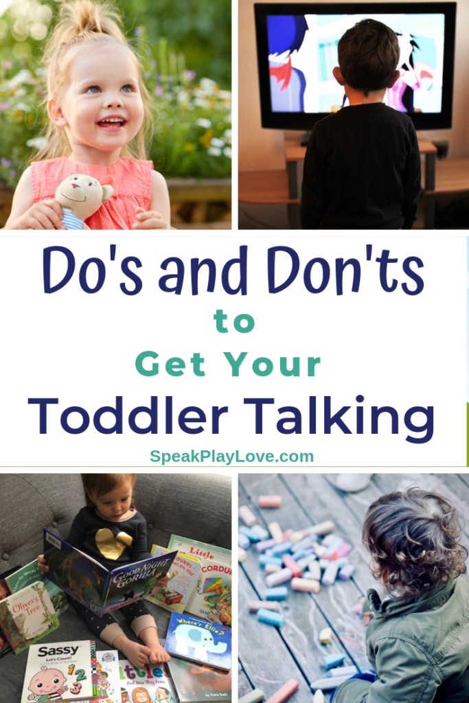 image of how to get toddler talking