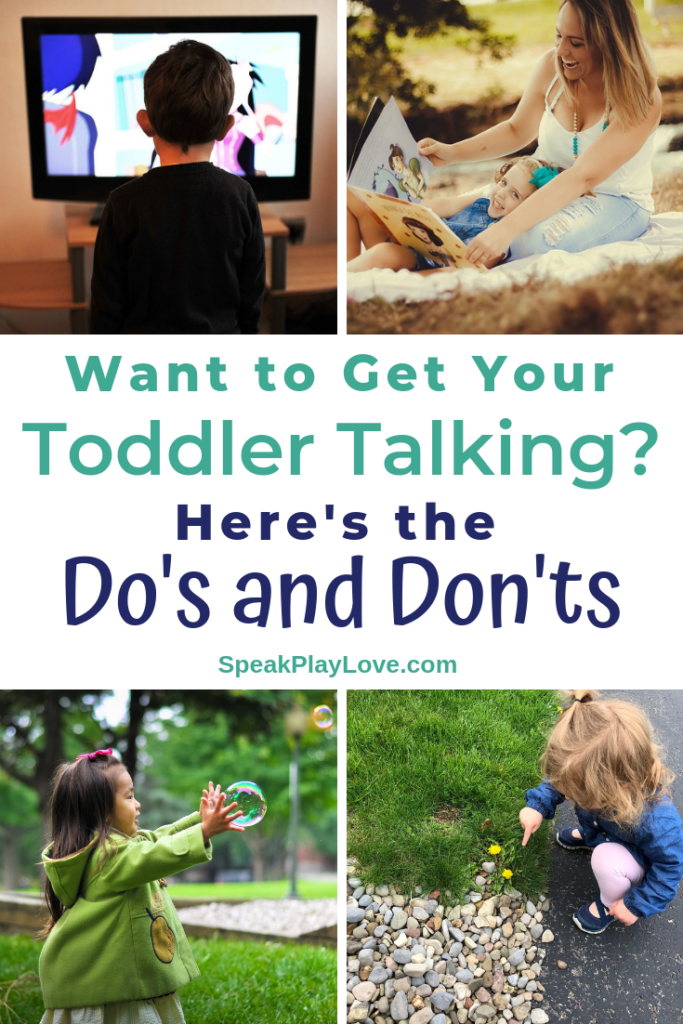 How to get your toddler talking pin image