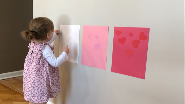 Sticker Sorting Activity Valentine's Day