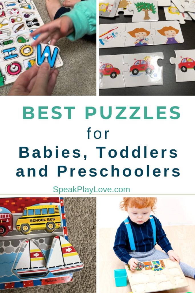 Best Puzzles for toddlers and preschool