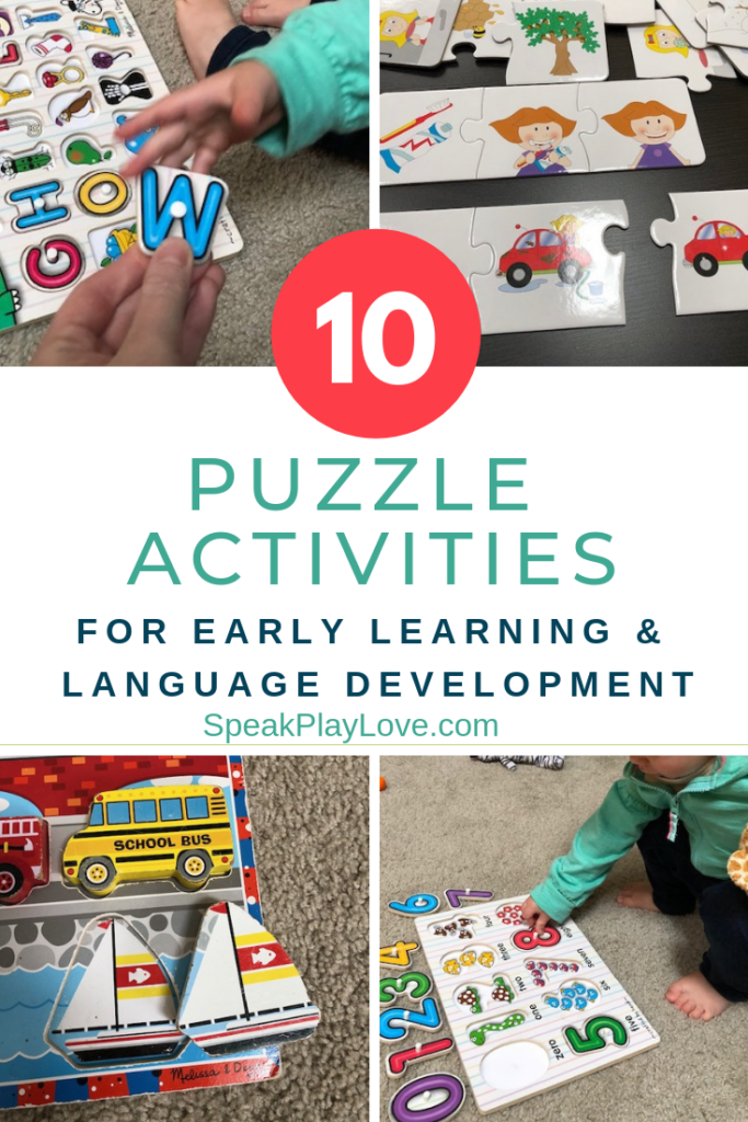 puzzles recommended for learning activities