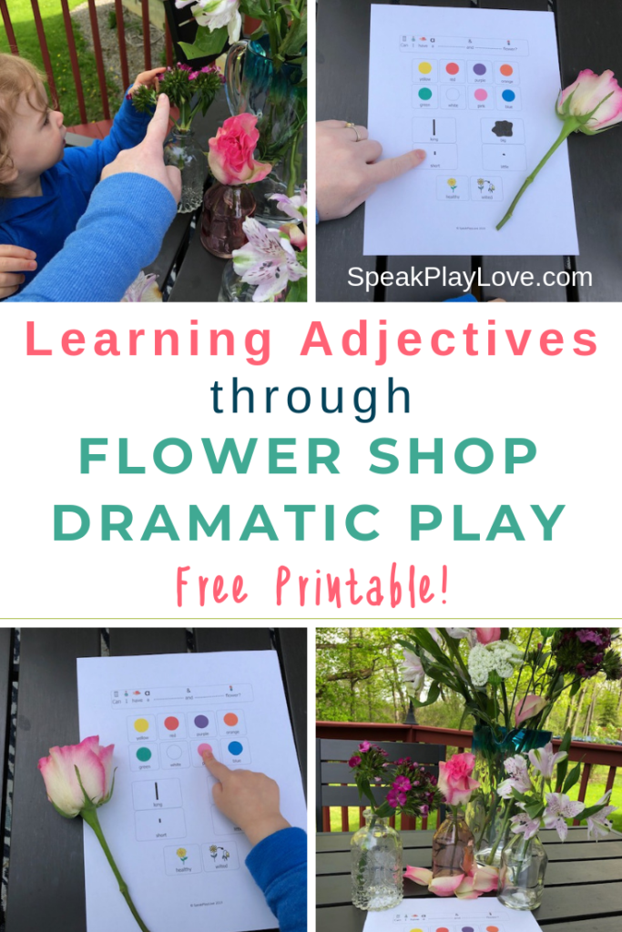 Flower Shop Dramatic Play Pin image