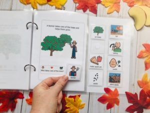 apple interactive book for speech therapy
