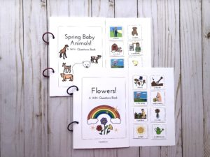 picture of spring interactive books