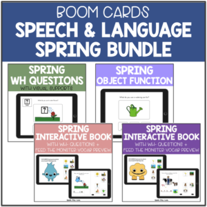 pic of boom spring speech therapy activity bundle