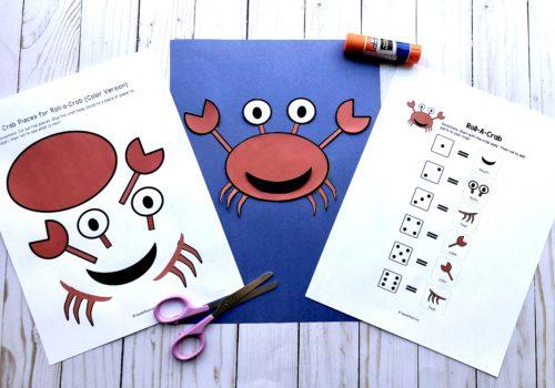 Summer Speech therapy craft
