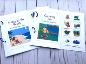 summer interactive books for speech therapy