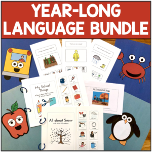 year long speech therapy activities bundle