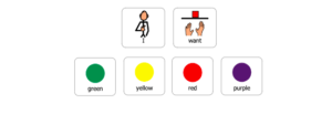 visual for board games for speech therapy