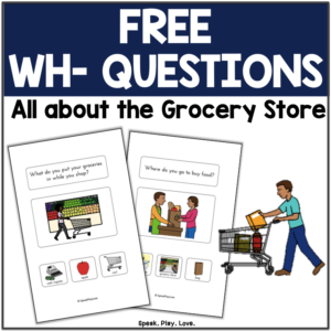 free wh question cards for speech therapy